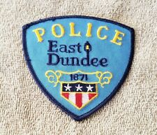 East Dundee Illinois Police Shoulder Patch