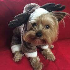 XSMALL PET REINDEER CHRISTMAS COSTUME