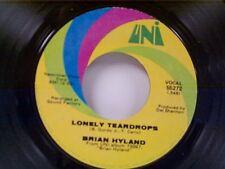 "BRIAN HYLAND ""LONELY TEARDROPS / LORRAYNE"" 45 MINT"