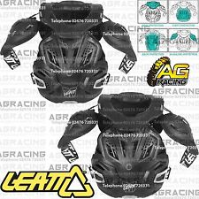 Leatt Adult 3.0 Fusion Black Neck Brace Body Chest Back Protector Small Medium