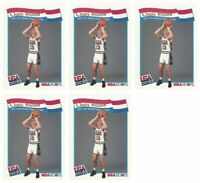 (5) 1991-92 Hoops McDonald's Basketball #57 Chris Mullin Lot Team USA