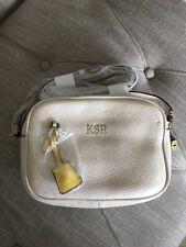 New J Crew Signet Bag in Italian Leather Ivory F5231