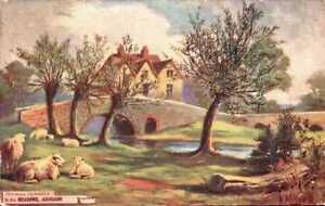 [54738] 'Alex Austen' Abingdon Derbyshire early postcard c.1912