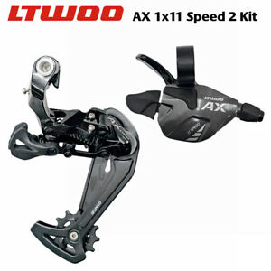 LTWOO AX11 MTB 11S Shifter+Rear Derailleur 11 Speed Compatible with 46T/50T/52T