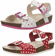 Scarpe Sandali in pelle bianca per bambine dai 2 ai 16 anni