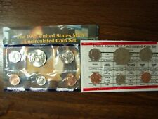 1995 United States Mint Set - Uncirculated Coin - U.S. Mint Official