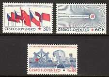 Czechoslovakia - 1966 Communist party congress - Mi. 1626-28 MNH