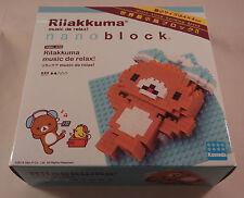 Kawada Nanoblock Rilakkuma music de relax! - japan building toy LTD NBH_070