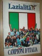 LIBRO BOOK S.S. LAZIO CAMPIONI D´ITALIA I GRANDI SPECIALI DI LAZIALITA´ CAMPIONI