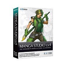 Smith Micro Manga Studio 4.0 (Retail) - Full Version for Windows, Mac MSEC40BX2