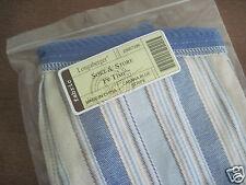 Longaberger~ Cabana Blue Stripe Fabric Liner for S&S TV TIME Basket NIP
