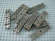 LEGO Lot of 10 Dark Gray 2x8 Train Track Sleeper Plate Pieces