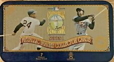 Cooperstown Collection Series 1 Metallic Images Collector Cards - Limited 49,900