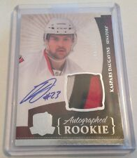 10/11 The Cup Rookie Auto Patch Kaspars Daugavins 244/249