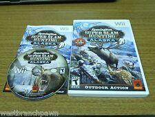 Remington Super Slam Hunting: Alaska - Nintendo  Wii Game 2009 LN CIB!