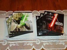 14 Star Wars Slipcovers, perfect STEELBOOK Case protectors