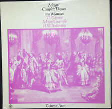 MOZART COMPLETE DANCES AND MARCHES VOL. 4 VINYL LP AUSTRALIA