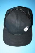RARE Sun Bum Black Mesh Snapback Baseball Trucker Cap Hat w/ Sonny Monkey Logo