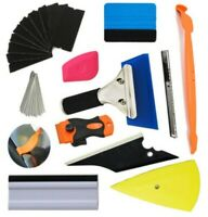 Car Wrapping Tint Application Tools 11 in 1 car foil set Kit Vinyl Squeegee
