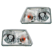 Fits 01-09 Ford Ranger Driver + Passenger Side Headlight Lamp Assembly 1 Pair