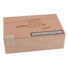 5 x Meine 50er Sumatra Holzkiste 50 Zigarren