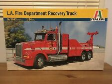 L.A. FIRE DEPARTAMENT RECOVERY TRUCK LOS ANGELES 1:24 ITALER 3843  NEW IN BOX