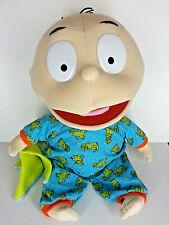 "Vtg Large Rugrats Tommy Pickles 24"" Plush Doll Reptar Pajamas PJ's 1999 Mattel"