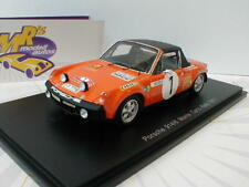 "SPARK s5583-PORSCHE 914/6 n. 1 Monte Carlo Rally 1971 ""G. Larrousse"" 1:43"