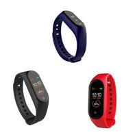 M4 Smart Band Wristband Salute Frequenza Cardiaca Pressione Sanguigna Monit W6S5