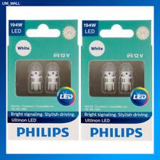 4x Philips Genuine NEW Ultinon 194ULWX2 194 WHITE LED Bulb T10 158 168 12961