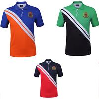 Lucky Sailing Men's Polo Shirts