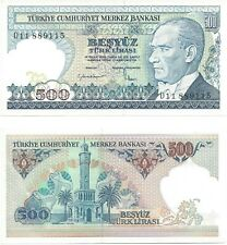 International Paper Note - 1984 Turkey - 500 Lira - Uncirculated