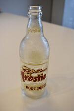 Frostie Old Fashion Root Beer Glass Soda Pop Bottle Baltimore 28 MD 12oz Vintage