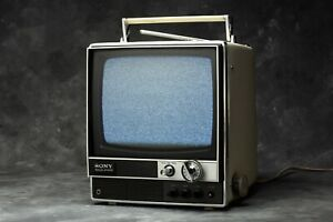 SONY TV-920UET Vintage Television 1970s  - Black and White - Working  220v
