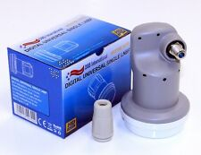 DIGITAL 0.1dB Ku BAND UNIVERSAL LINEAR SINGLE LNB LNBF SPITFIRE ELITE