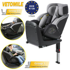 VETOMILE Isofix Baby Car Seat+Safety Base Kids Rear & Forward Booster Group 0+/1
