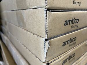 1 M2 Amtico Spacia Flooring Linear Stone Shale 18 X 12 Tiles (117 m2 available)