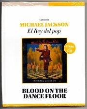 Michael Jackson Blood On The Dance Floor CD & Book: El Rey Del Pop