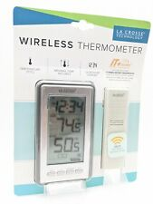 Lacrosse Technology Wireless Indoor/Outdoor Lcd Weather Thermometer New