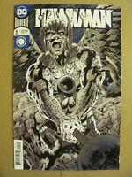 Hawkman #5 DC Universe 2018 Series FOIL COVER 9.6 Near Mint+