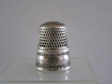 Dé à coudre en argent Ancien / antique silver thimble/ Fingerhut silber