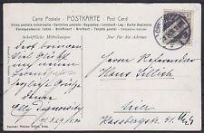 DR Mi Nr. 83 I EF auf toller Künster AK Kiessling Mignon, gel. in Chemnitz 1906