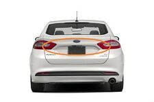 2013-2016 FORD FUSION REAR TRUNK LID MOLDING WITH CAMERA WHITE TRIM 13 14 15 16