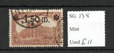 Allemagne 1920 surcharge 1M50 sur 1 m SG138 utilisé SG CV £ 11