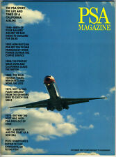 1987 PSA Pacific Southwest Airlines Magazine Inflight Aviation Defunct Airlines