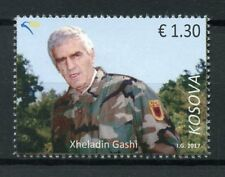 Kosovo 2017 MNH Xheladin Gashi Plaku 1v Set Military Army Stamps