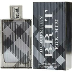BURBERRY BRIT for Men Cologne edt 3.3 oz / 3.4 oz New in Box Sealed