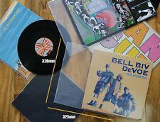 "20 12"" inch Vinyl Record Album 3 LP 450g Gauge Outer Plastic Polythene Sleeves"
