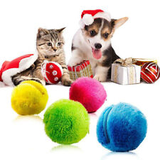 5Pcs/set Magic Roller Ball Electric Toys Playmate For Puppy Dog Cat Pet