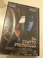 Dvd EL CUARTO PROTOCOLO CON MICHAEL CAINE Y PIERCE BROSNAN